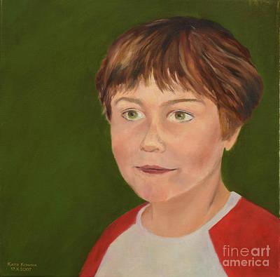 Painting - Joyful by Oleg Konin