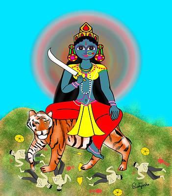 Painting - Katyayani by Pratyasha Nithin