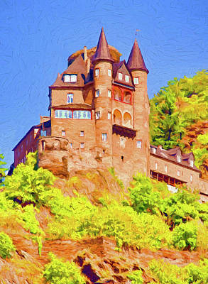Mixed Media - Katz Castle by Dennis Cox Photo Explorer