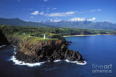 Photograph - Kauai, Aerial by Dana Edmunds - Printscapes