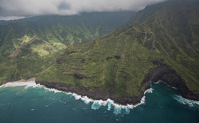 Photograph - Kauai Coastline by Steven Lapkin
