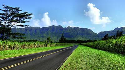 Photograph - Kauai Countryside by Laura Ragland