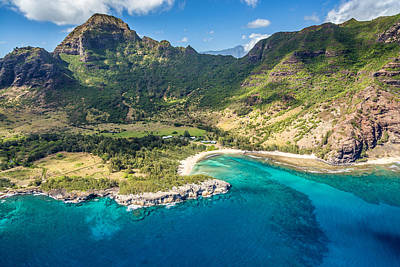 Photograph - Kauai From The Air by Pierre Leclerc Photography