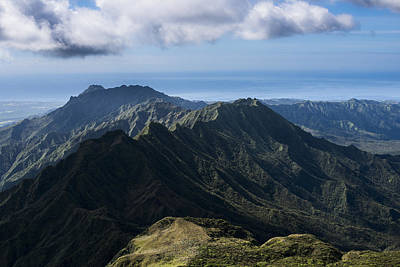 Photograph - Kauai From The Top by Robert Potts