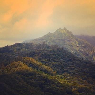 Photograph - Kauai Hawaii Landscape by Jim Vance