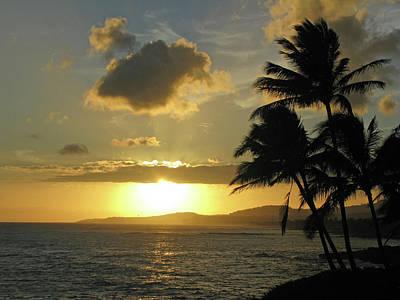 Photograph - Kauai, Hawaii - Sunset 15 by Pamela Critchlow