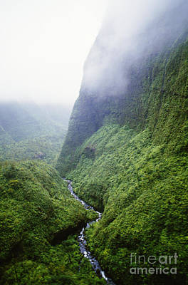 Photograph - Kauai Mount Waialeal by Peter French - Printscapes