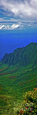 Photograph - Kauai  Napali Coast State Wilderness Park by Tom Jelen