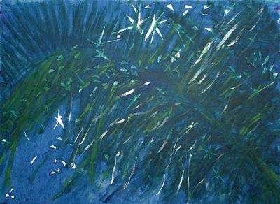 Kauai Night Art Print by Adrian Simpson