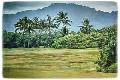 Linda Dunn Photograph - Kauai Postcard by Linda Dunn