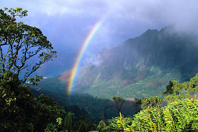 Photograph - Kauai Rainbow by Brent Black - Printscapes