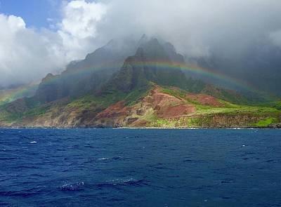 Photograph - Kauai Rainbow by Devin Millington