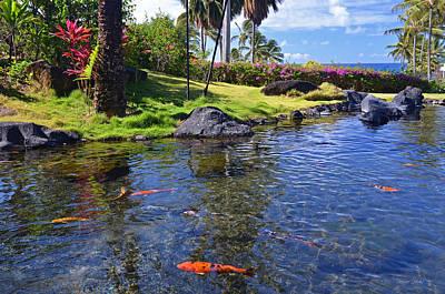 Kauai Serenity Art Print by Marie Hicks