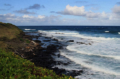 Kauai Shore 1 Art Print