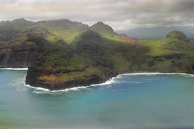 Photograph - Kauai Shoreline by Frank Wilson