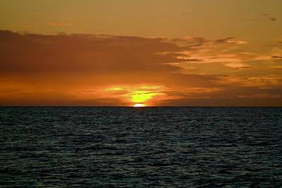 Photograph - Kauai Sunset by Devin Millington