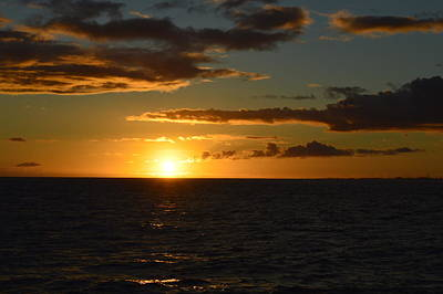 Photograph - Kauai Sunset by James McAdams