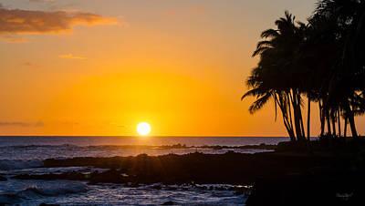 Photograph - Kauai Sunset by Shanna Hyatt
