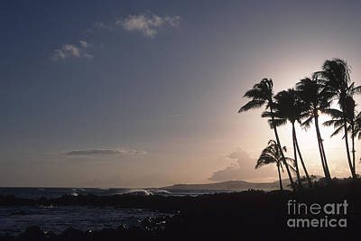 Photograph - Kauai Sunset by Stan and Anne Foster