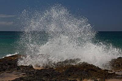 Photograph - Kauai Surf by Steven Lapkin