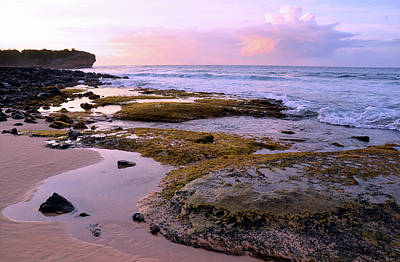 Photograph - Kauai Tide Pools At Dawn by Marie Hicks