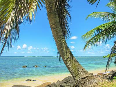 Kauai Tropical Beach Art Print