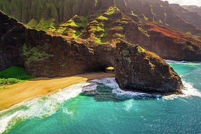 Photograph - Kauai Tunnel by Ryan Moyer