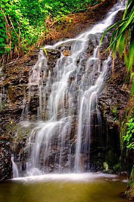 Kauai Water Cascade Art Print