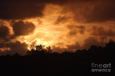 Thomas Kinkade Royalty Free Images - Kauaiian Sunset Royalty-Free Image by J Bloomrosen