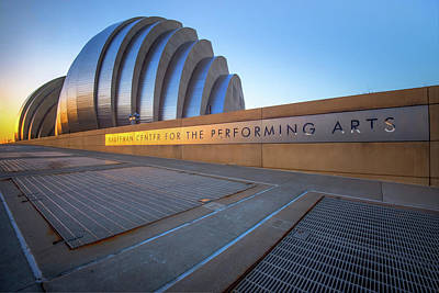 Photograph - Kauffman Center For The Performing Arts - Kansas City by Gregory Ballos