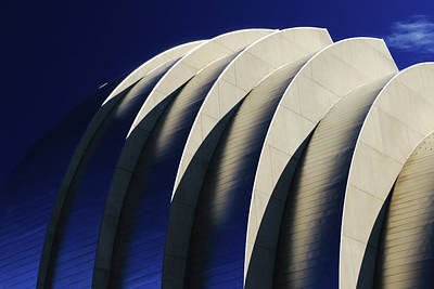 Photograph - Kauffman Center Graphic by Christopher McKenzie