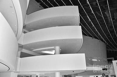 Photograph - Kauffman Center In B/w by Bob Brents