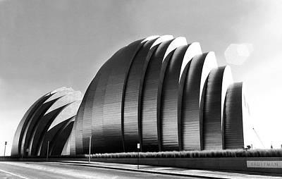 Kansas City Photograph - Kauffman Center by Laurie Douglas