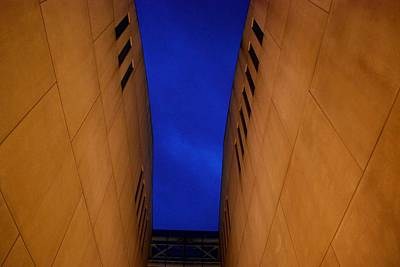 Photograph - Kauffman Center Looking Up - Kansas City by Matt Harang
