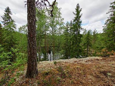 Photograph - Kaukaloistenkallio Hillside View by Jouko Lehto