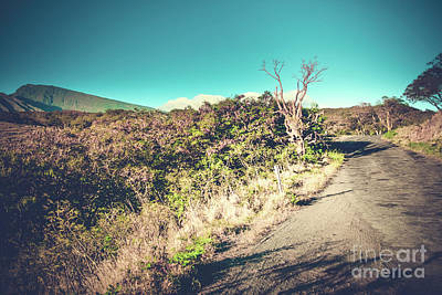 Photograph - Kaupo Other Road To Hana Sunset Piilani Highway Maui Hawaii by Sharon Mau