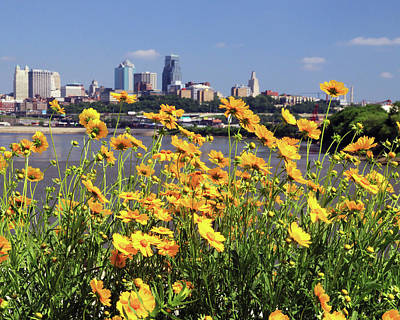 Photograph - Kaw Point Park Afternoon by Christopher McKenzie