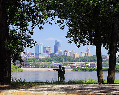 Photograph - Kaw Point by Christopher McKenzie