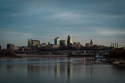 Photograph - Kaw Point Looking East by Jeff Phillippi