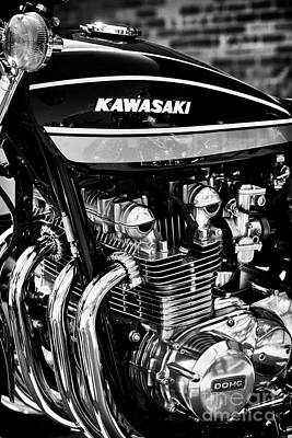 Photograph - Kawasaki Z1  by Tim Gainey
