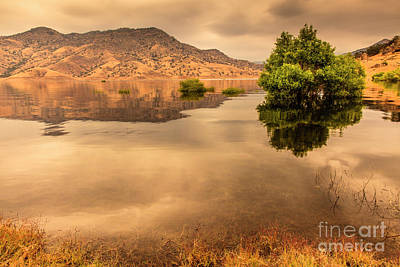 Photograph - Kaweah Lake California 4 by Ben Graham