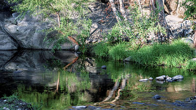 Photograph - Kaweah Reflections 04 by Kent Nancollas