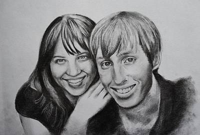 Drawing - Kay And Michael by Emily Maynard
