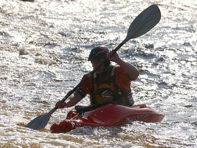 Priska Wettstein Pink Hues - Kayak 2 by Jouko Lehto