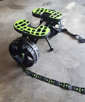 Photograph - kayak 6 - C-tug assembled for use by Greg Jackson