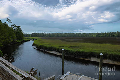 Photograph - Kayak Dock by Dale Powell
