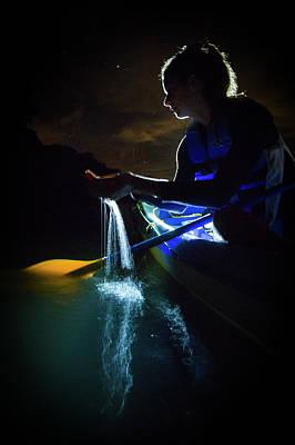 Photograph - Kayak In The Biobay by Karl Alexander