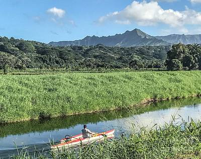 Photograph - Kayak Kauai by William Wyckoff