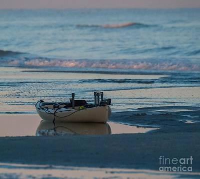 Photograph - Kayak On The Beach by Scott Hervieux