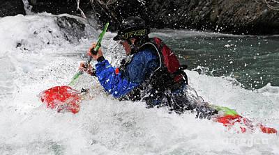 Photograph - Kayaker 4 by Vivian Christopher